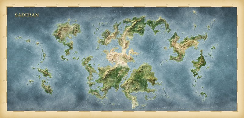 Real world map Dominions 4 Mods